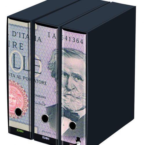 raccoglitore kaos banconota lira