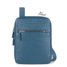 Piquadro CA3328S78-blu borsello organizzato