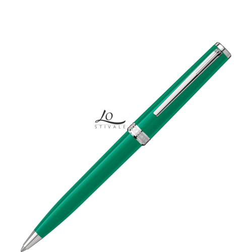 117661 pix penna a sfera emerald green montblanc