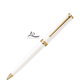 Montblanc 117659 Penna a Sfera Pix White