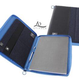 Portablocco blu