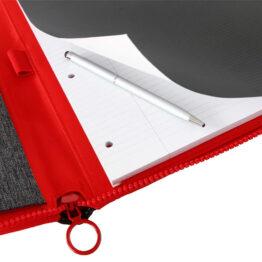 Portablocco grigio rosso