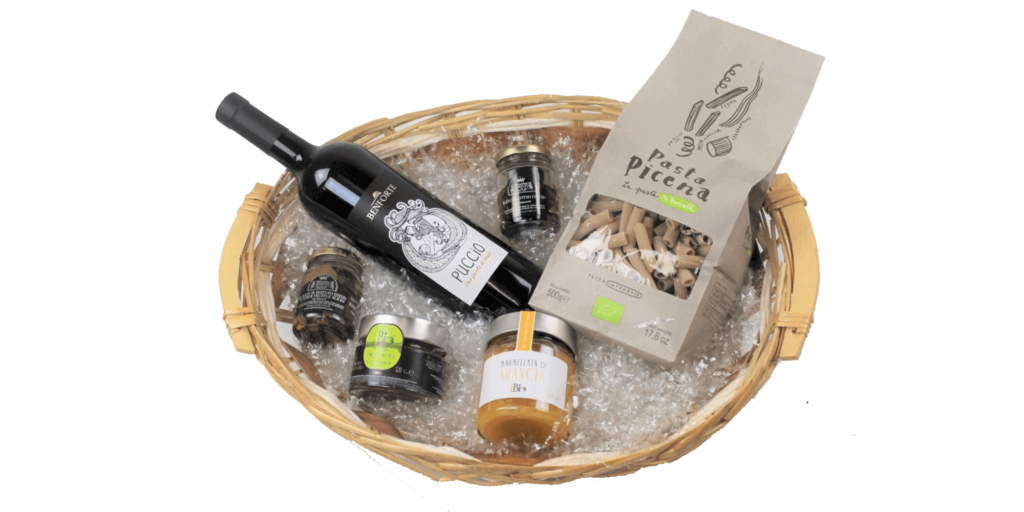 Pacco regalo luxury food